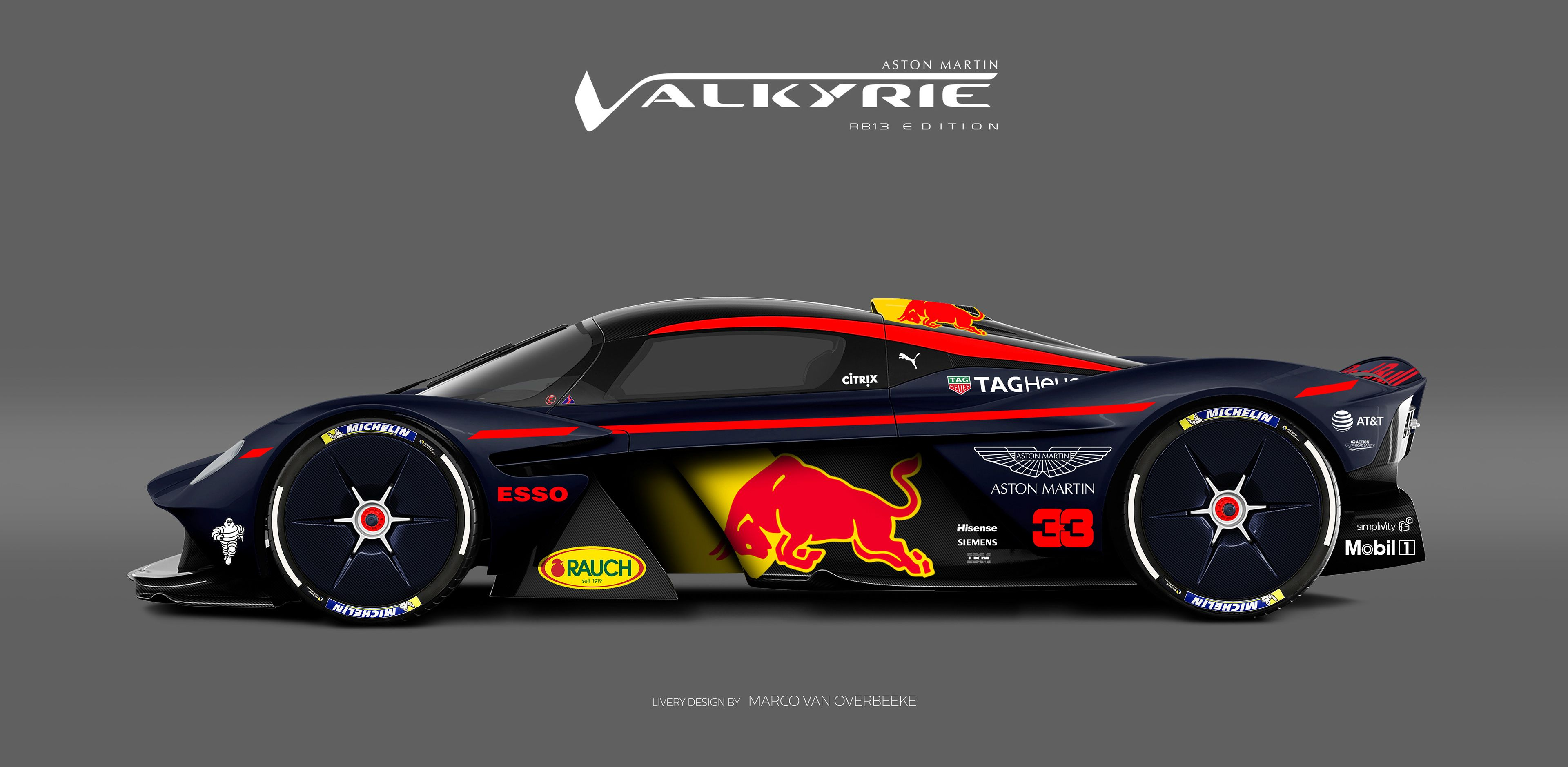 aston martin valkyrie liveries & volante concept & track-only