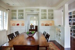 Gatling Design cozy cottage traditional dining room san diego by gatling