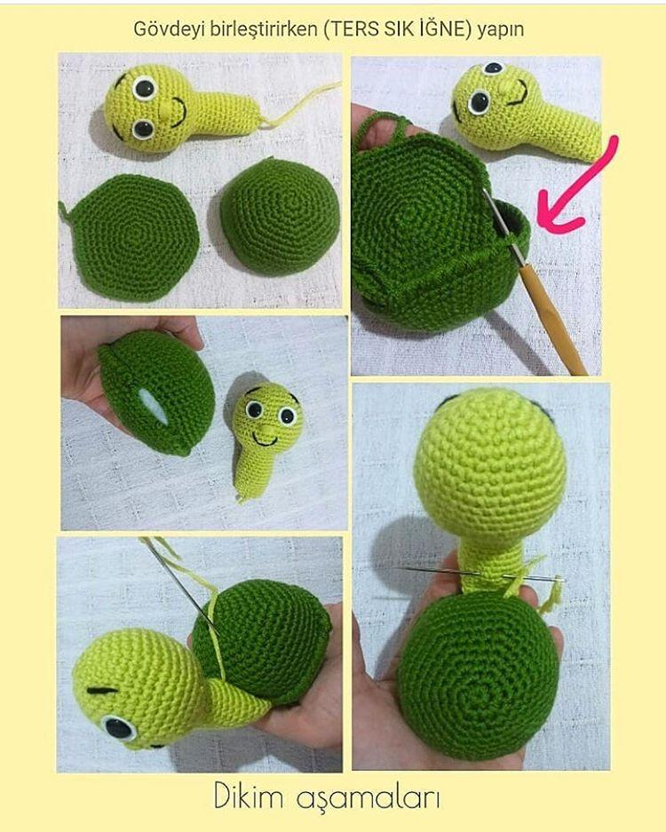 #Repost @meryemce_oyuncaklar with @get_repost ・・・ Merhabalar ☺ . Yepyeni #tarifler üretmeye devam ediyoruz ???? . İştee… #crochetturtles