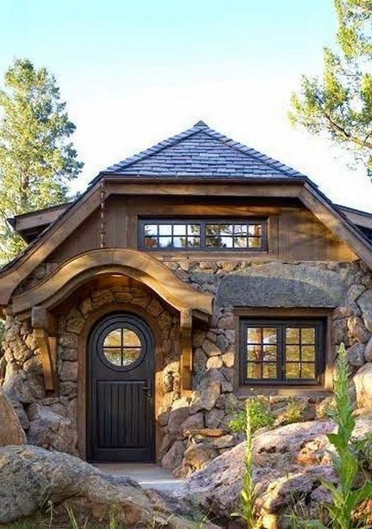 41 Awesome Tiny Stone Cottage Interior And Exterior Design Ideas Page 18 Of 43 Stone Cottage Cottage Interiors Exterior Design