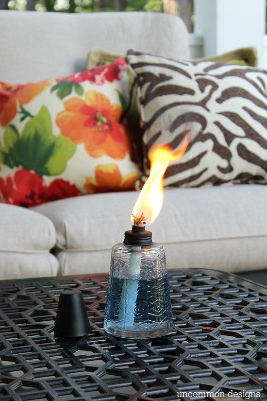 TIKI Table Torches For Summer Dining Vis Uncommon Designs.