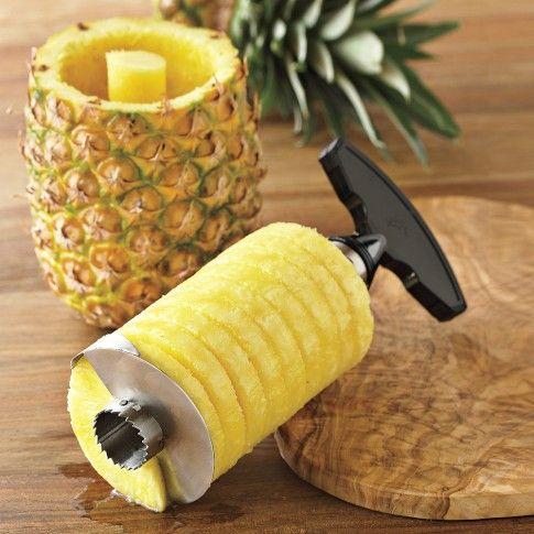 Pineapple Easy Slicer   Williams-Sonoma