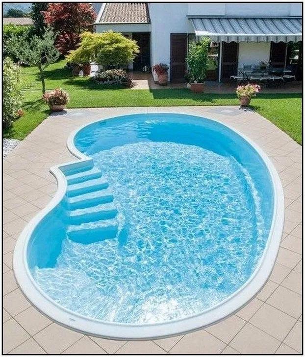 Photo of 49+ Glamorous Garden Design Ideas With Swimming Pools