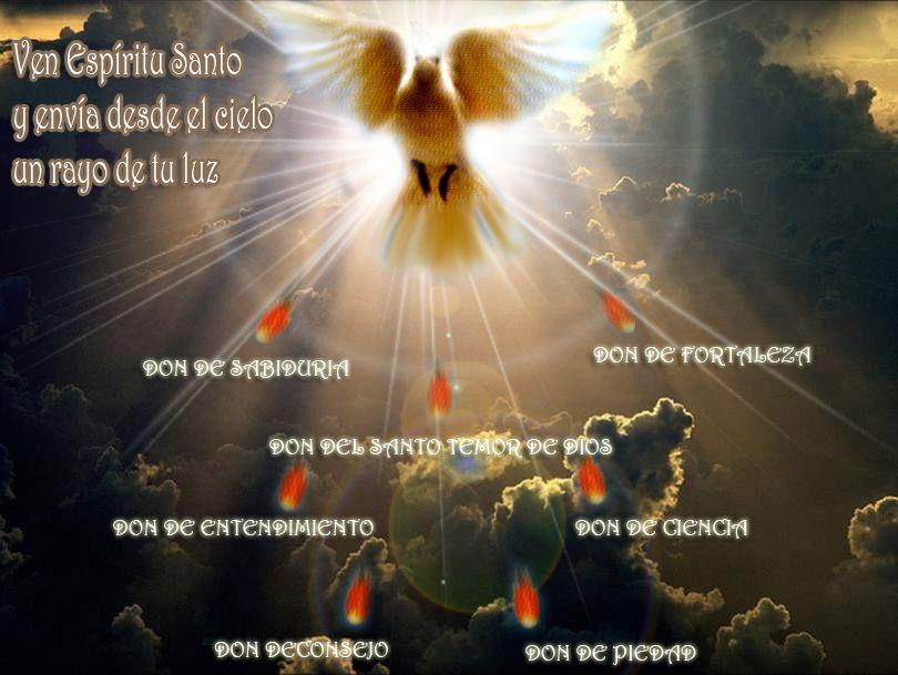 Blog Catolico Gotitas Espirituales Los Dones Del Espiritu Santo Dones Del Espiritu Espiritu Santo Espiritus