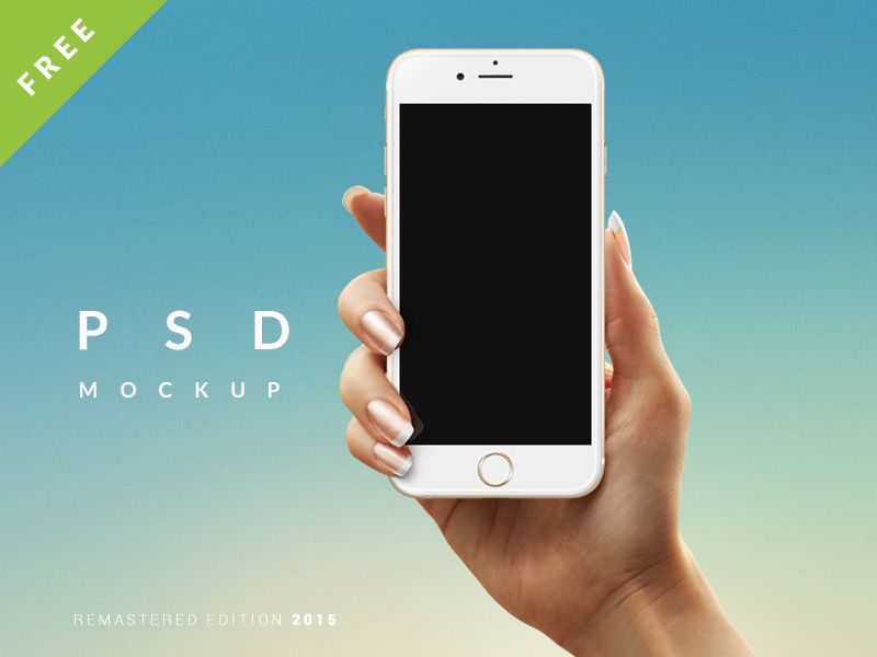 Download Free Hand Holding Iphone 6 Mockup Psd Freebiedownload Psd Download Free Psd Resources For Designers At Downloadpsd Iphone Iphone Mockup Android Psd