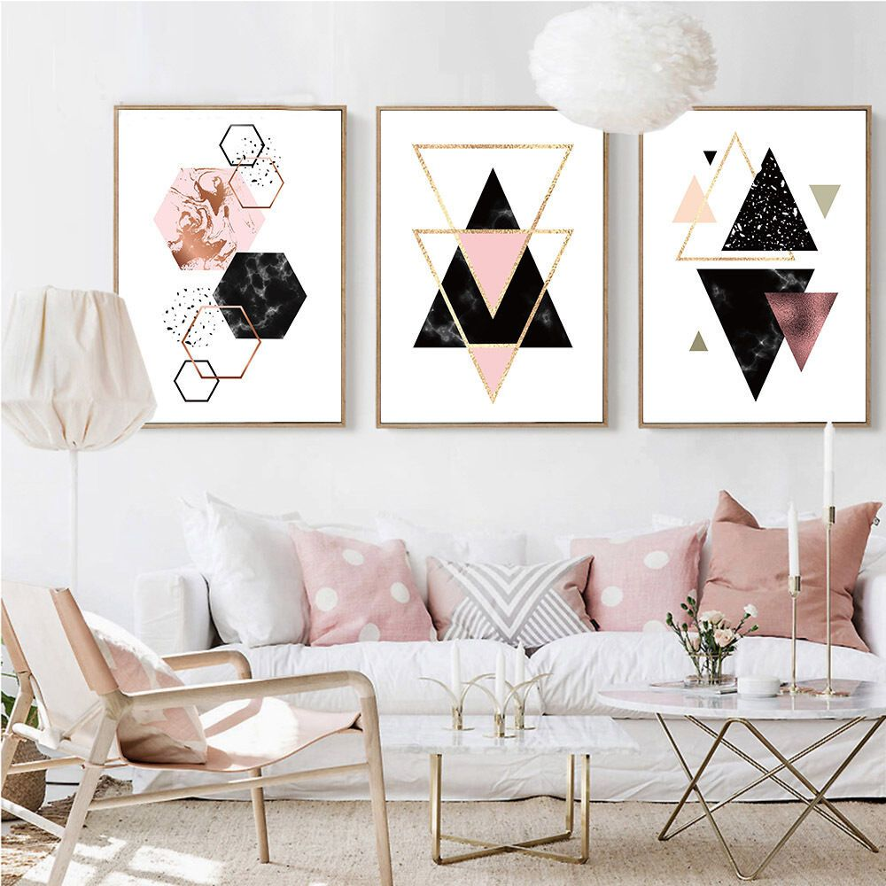The Moon Phase Canvas Poster Long Banner Black White Minimalist Wall Art Prints