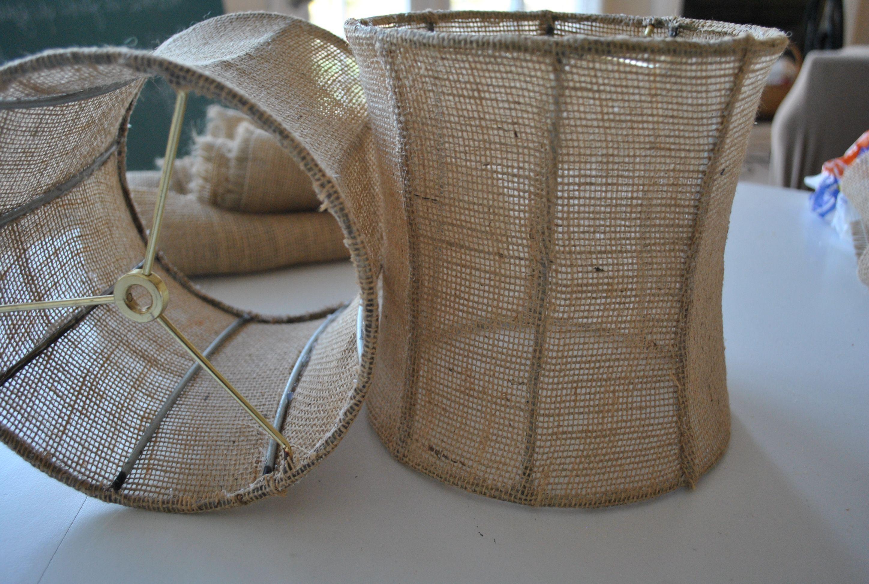Casual Burlap Fabric For Stylish Burlap Lamp Shade: Attractive Furniture Burlap  Lamp Shade Tutorial How To Make Burlap Lamp Shade For Home Lighting Ideas