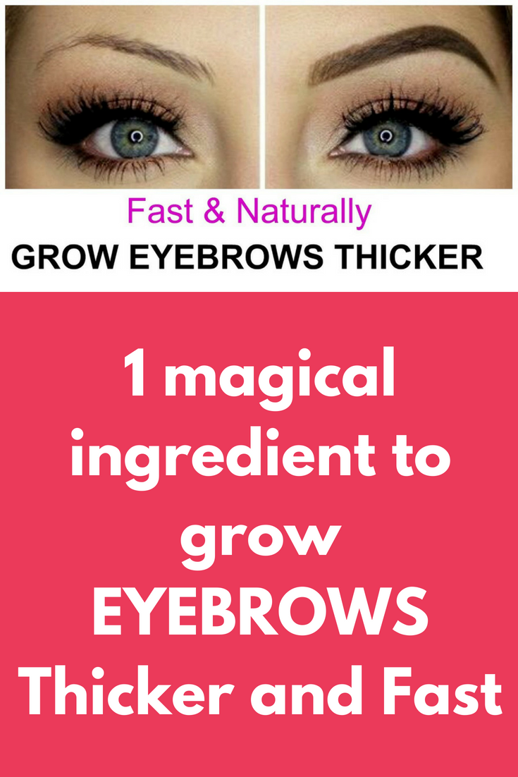 1 Magical Ingredient To Grow Eyebrows Thicker And Fast Beauty Tips