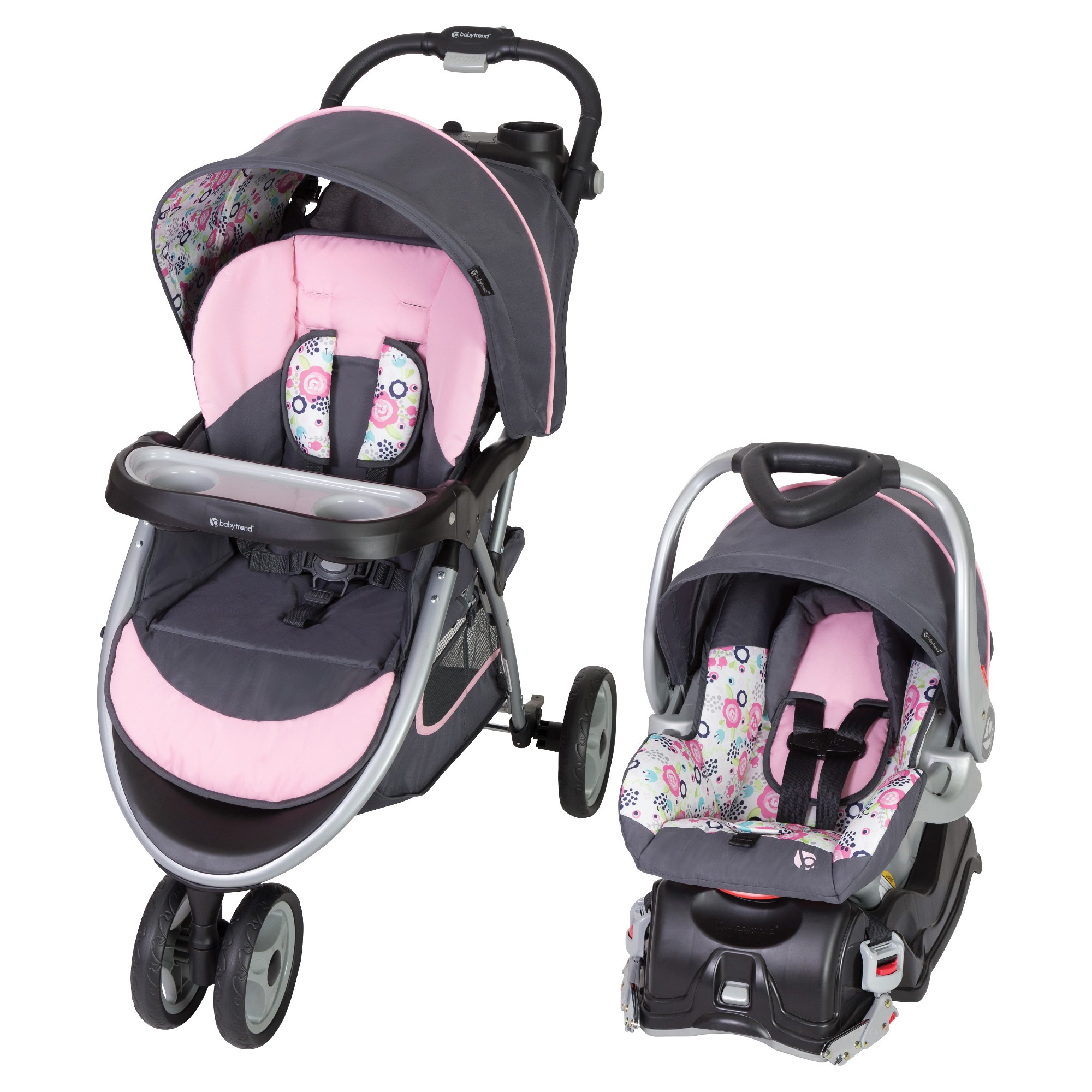 Baby Trend Travel System Pink Baby trend travel system