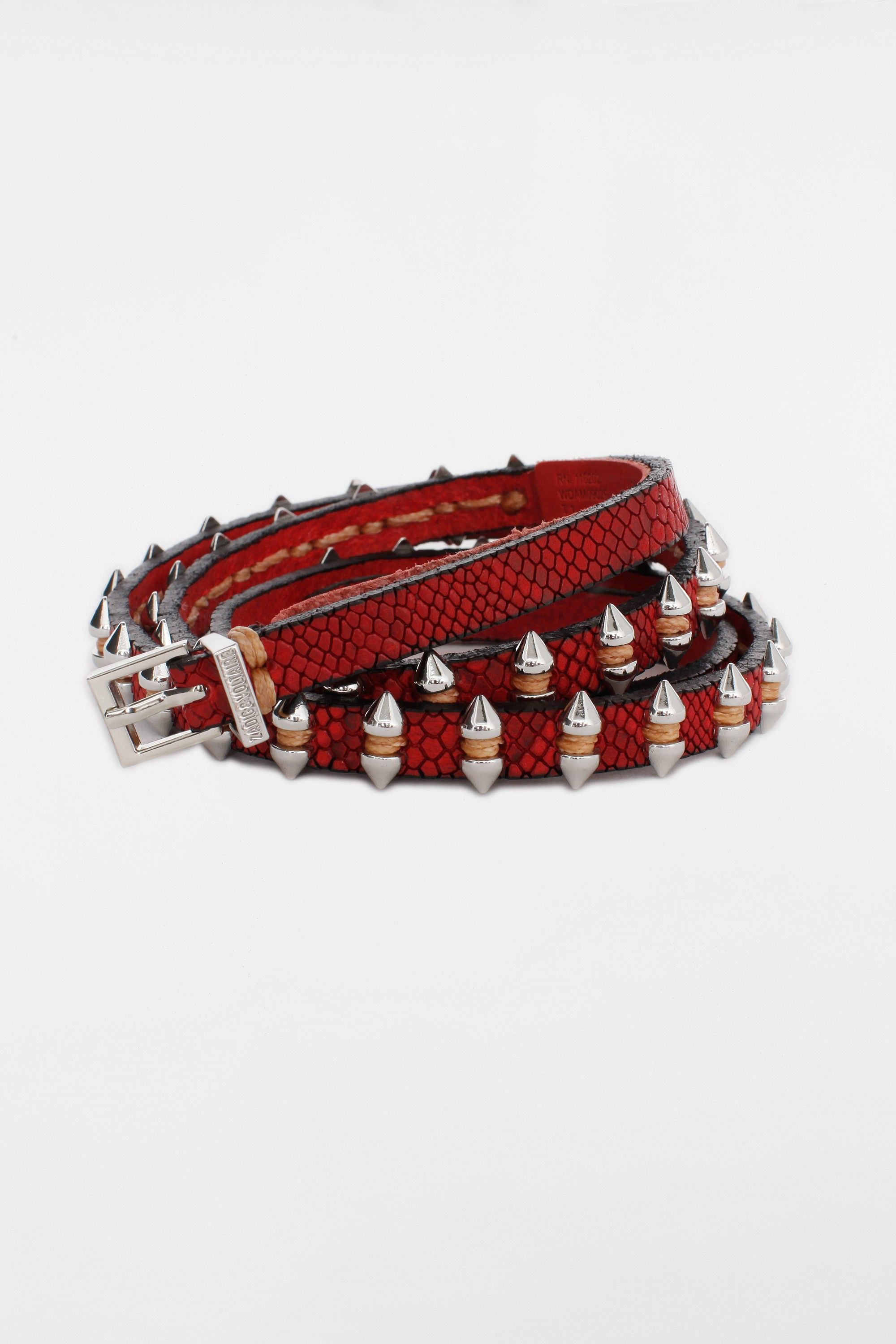 Shark Belt, red, Zadig & Voltaire