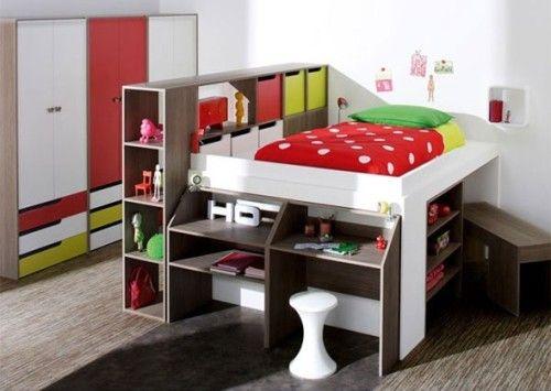 Dormitorios con Camas Loft para Jóvenes Ideas y Fotos rooms