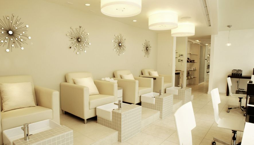 spa by bardot nail salon interior design showrooms