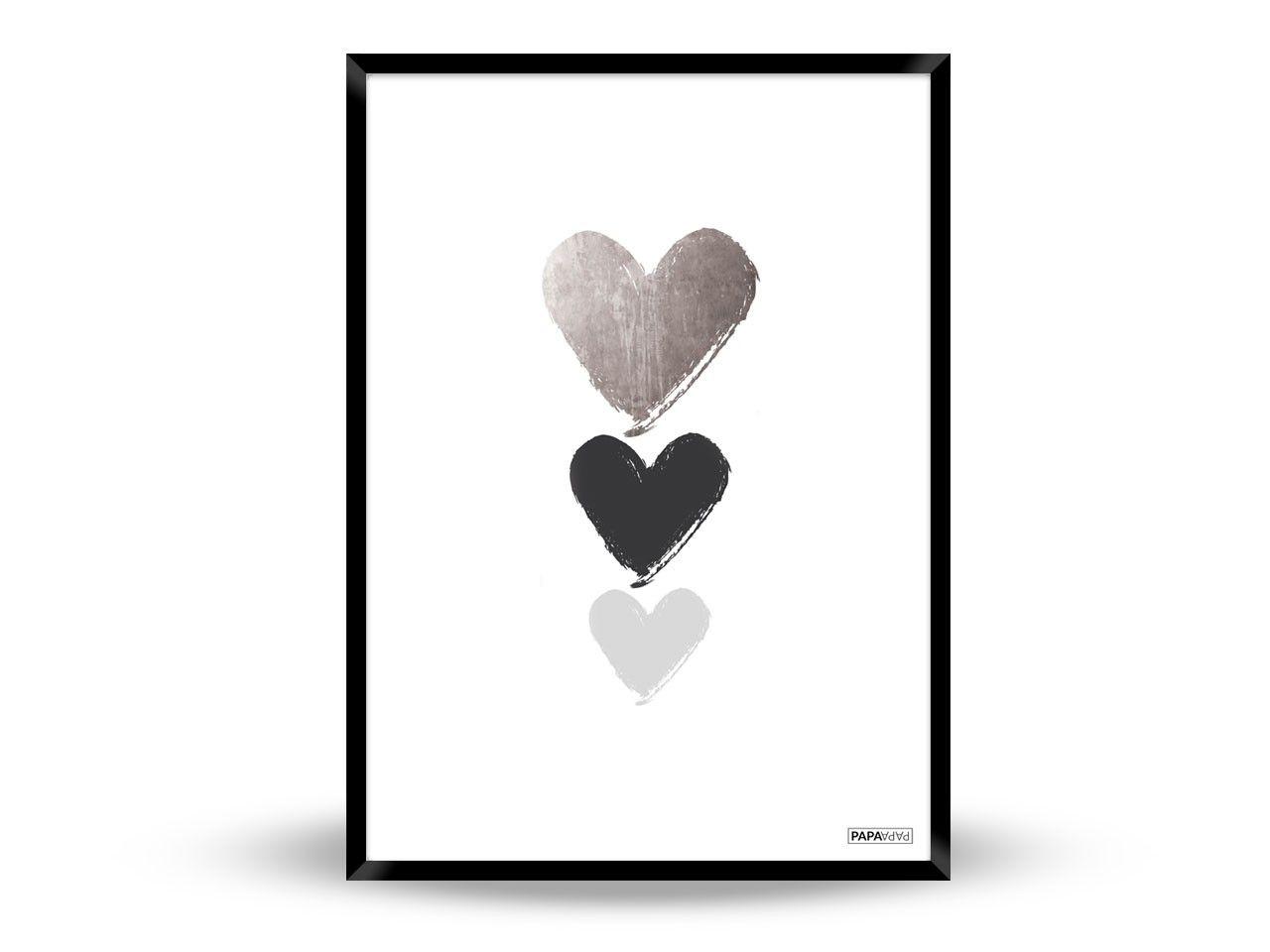 Papapapa Love Is Inevitable Med Billeder Plakater Kunst