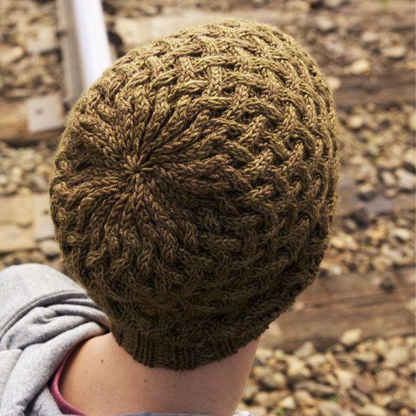 Apple Pie Hat -$5 Pattern | Knitting, Apple pie, Hat tip