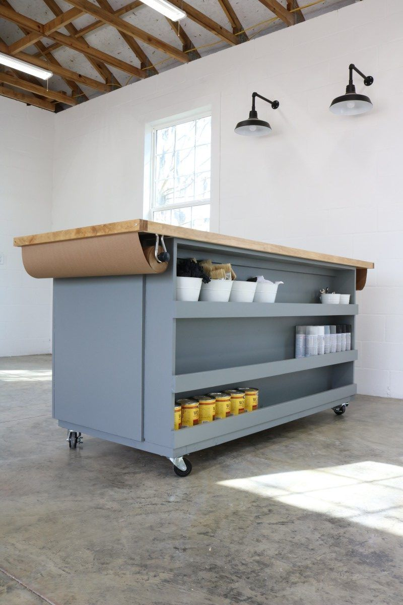 Workshop Paint/Assembly Table