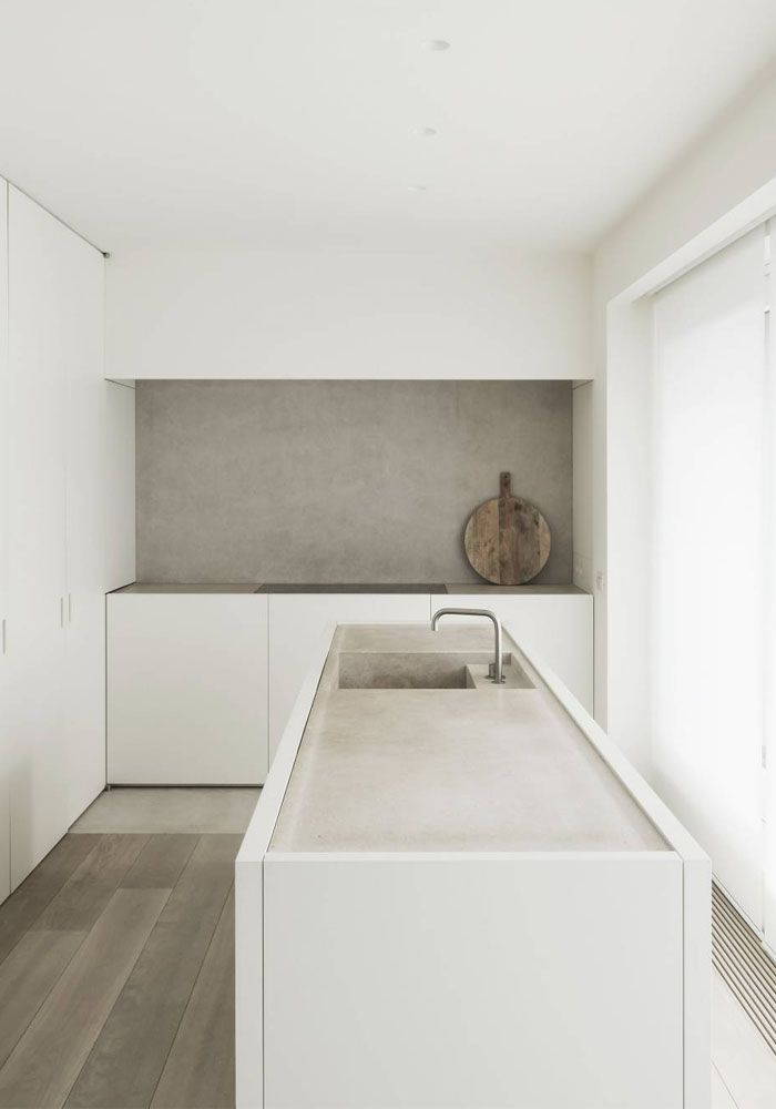 Natural kitchen #minimalistkitchen