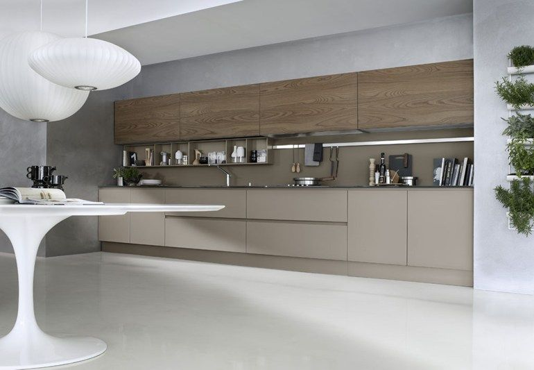 LACQUERED LINEAR KITCHEN SYSTEM   COMPOSITION 06   PEDINI   At home ...
