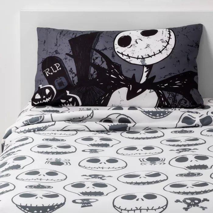 Twin The Nightmare Before Christmas Sheet Set Nightmare Before Christmas Drawings Nightmare Before Christmas Nightmare Before