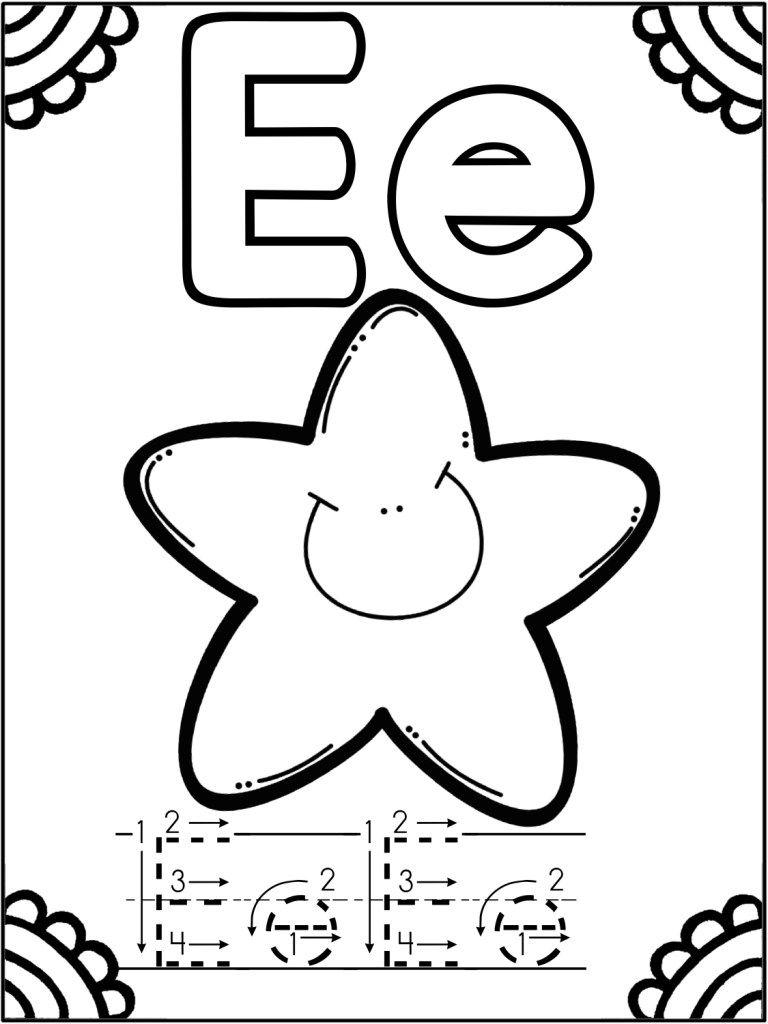 Abecedario Para Colorear Y Trabajar El Trazo Orientacion En 2020 Actividades De Lectura Preescolar Actividades Del Alfabeto En Preescolar Hojas De Trabajo Preescolar