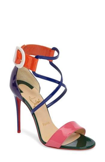 Christian Louboutin Women's Choca Criss Sandal u71NR