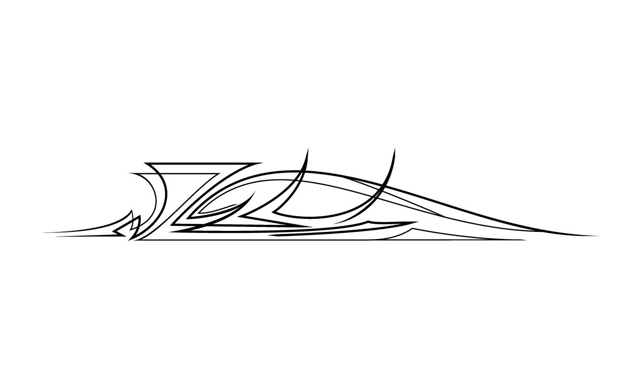 basic pinstriping designs simple pinstri