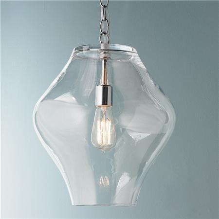 Shapely Glass Lantern Glass Lantern Glass Pendant Shades