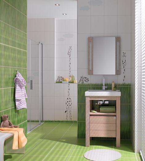 Fa ence de salle de bains pour enfant par steuler blog carrelage projets essayer salle - Salle de bain pour enfant ...