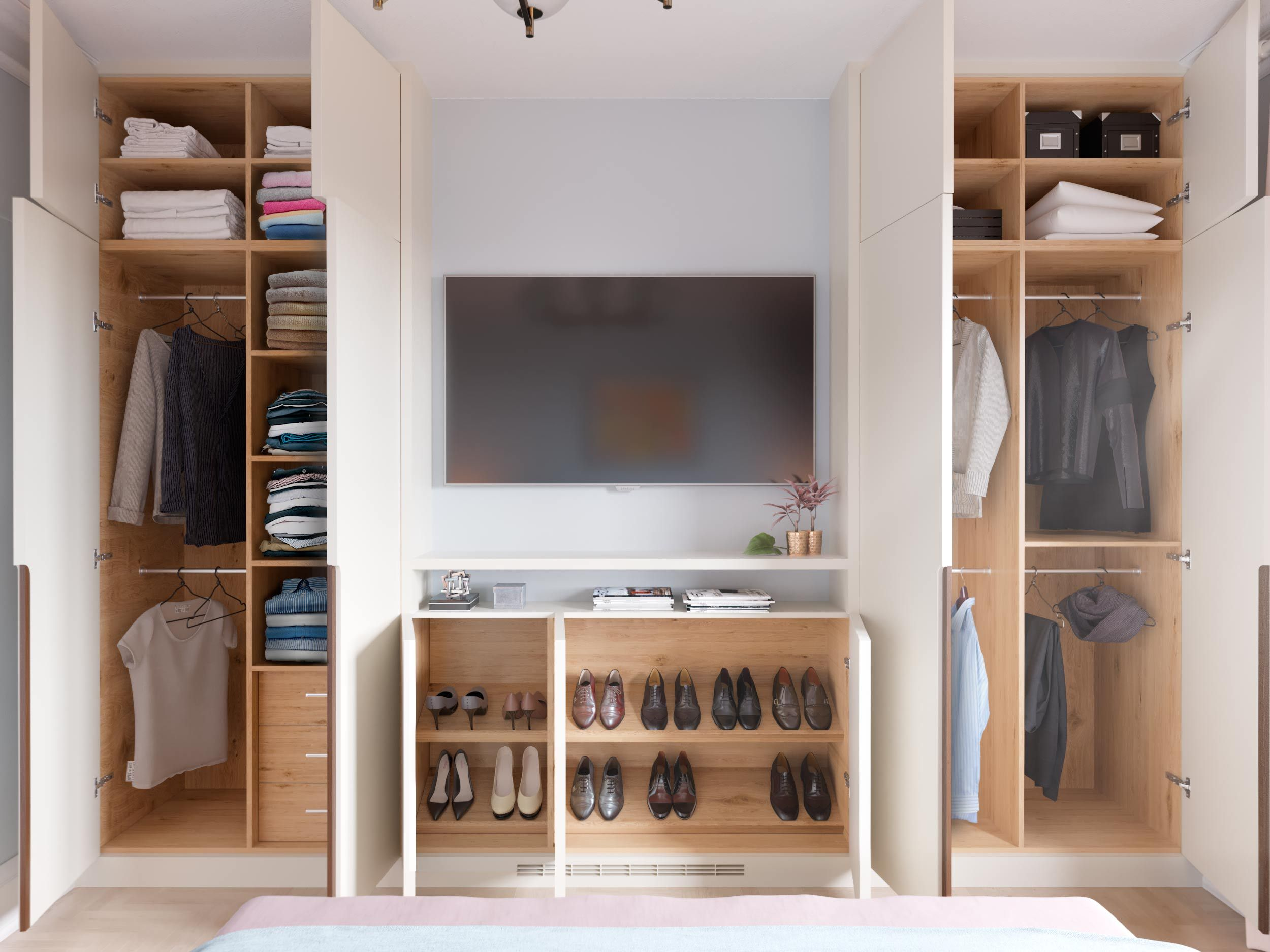 Built In Cabinets For Closet Space Built In Wardrobe Ideas Alcove Bedroom Built Ins Bedroom Built In Wardrobe