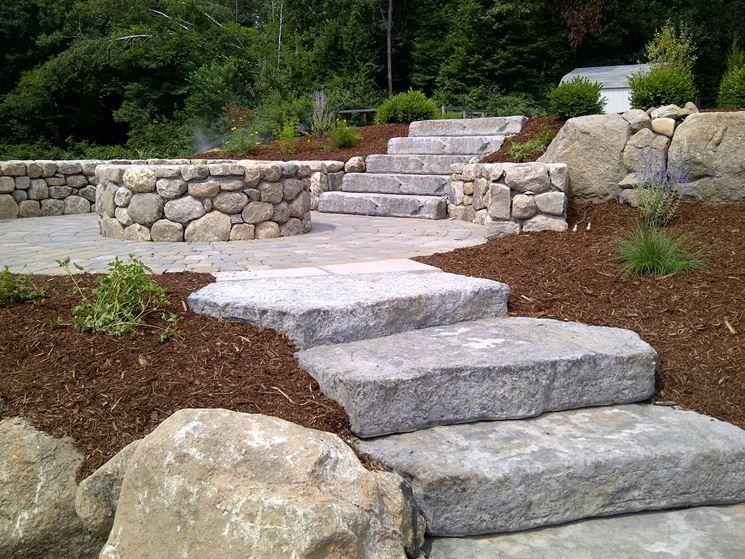 Risultati immagini per gradini incassati nel terreno giardino pinterest immagini - Scale in giardino ...