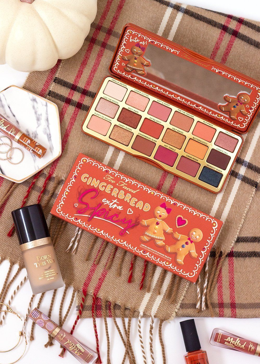 Too Faced Gingerbread Extra Spicy Palette Review New