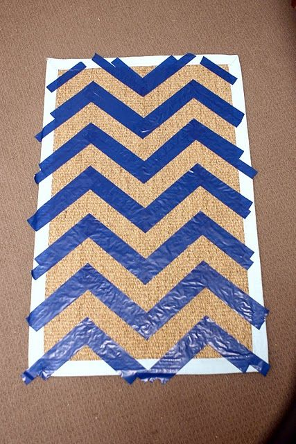 How To Make A Chevron Door Mat Kourtney My Friend Did This And It