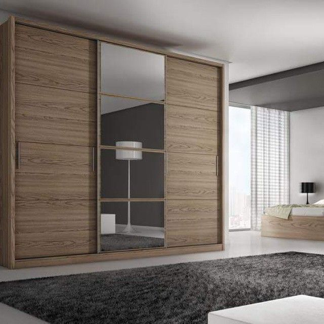 Your bedroom will never be the same the bellevue 3 door - Bedroom cabinets with sliding doors ...