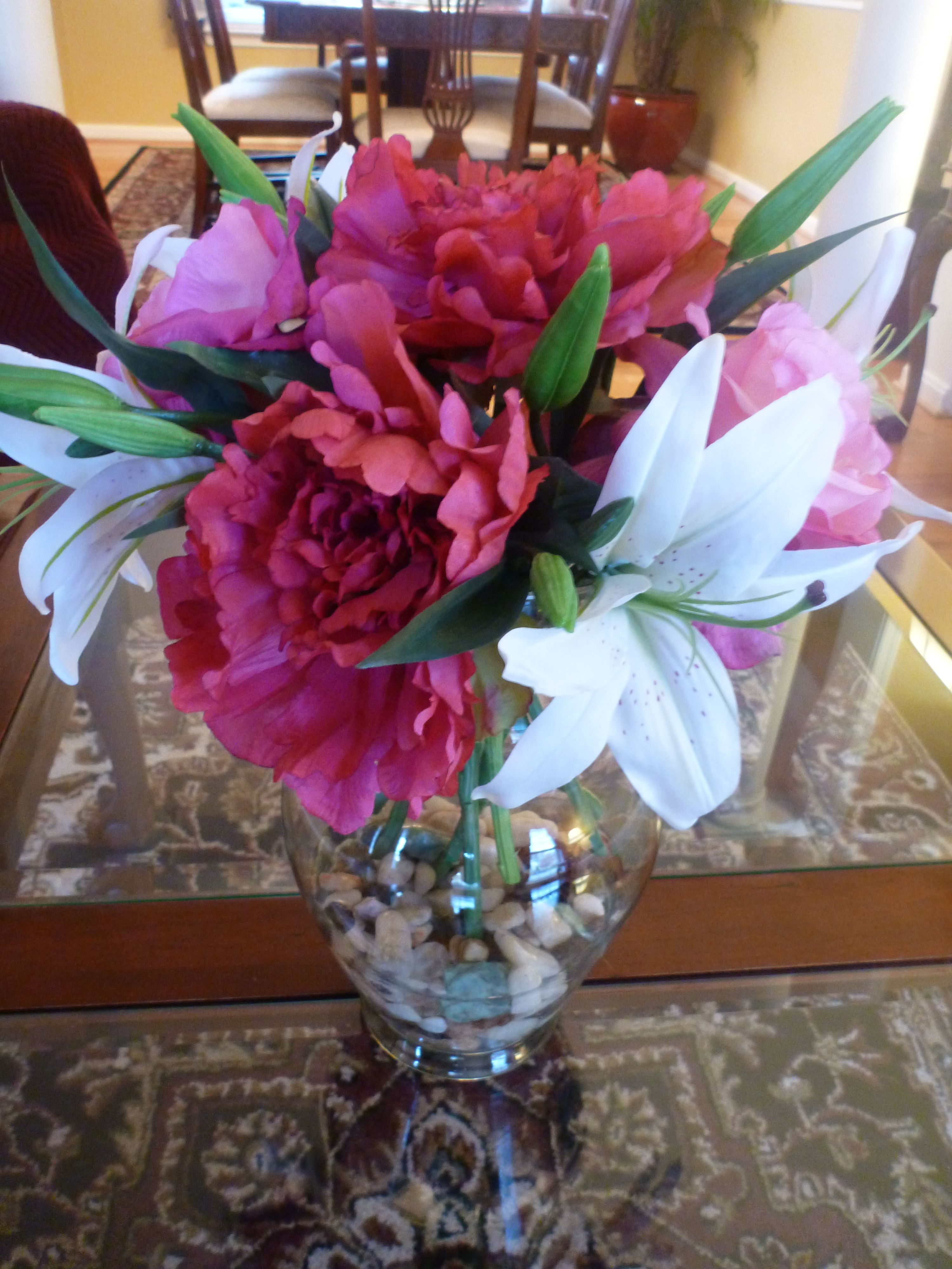 Exquisite Silk Flower Arrangement Made With The Highest Quality