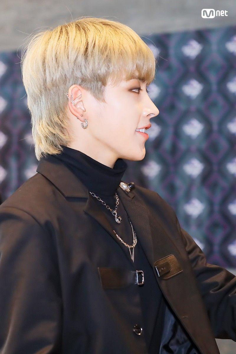 Hongjoong Mullet Hairstyle Mullets Hair Styles