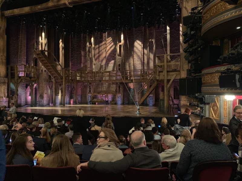 Richard Rodgers Theatre Section Orchestra Row L Seat 10 Hamilton Shared Anonymously Richard Rodgers Orchestra The Row