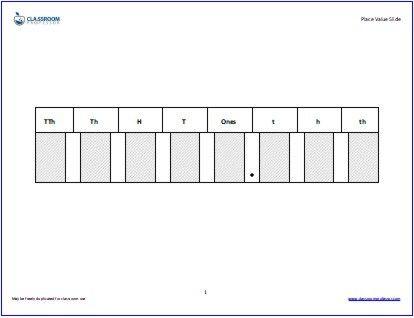 Place Value Worksheets » Place Value Worksheets Decimals 5th Grade ...