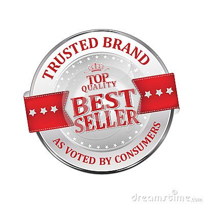 Trusted Brand Best Seller Shiny Icon Label Badge Business Stamps Trusted Brands Brand