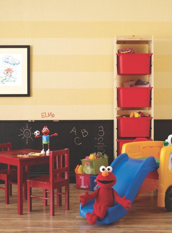 Elmo Bedroom Decorating Ideas: #BeautiTone Paint Kids Home Decor