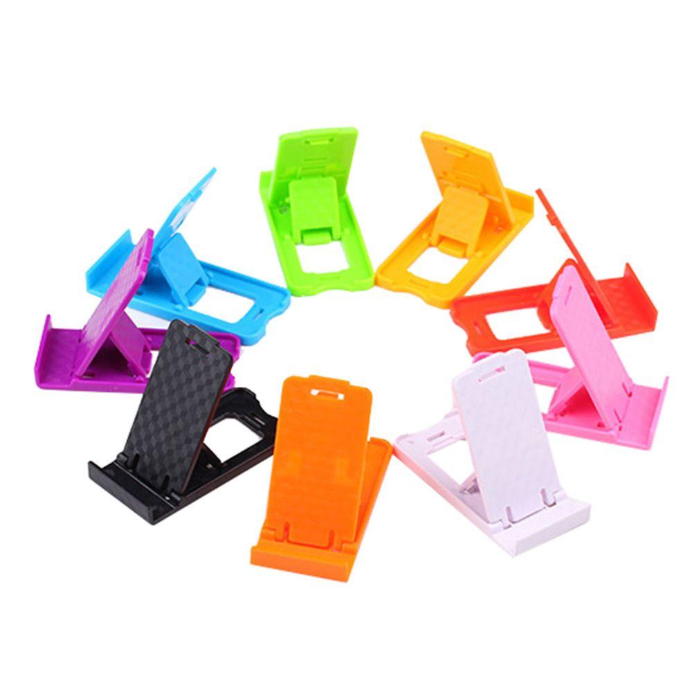 접이식 휴대 전화 홀더 samsung galaxy note series 게으른 전화 홀더 침대 디스플레이 전화 액세서리 iphone 태블릿
