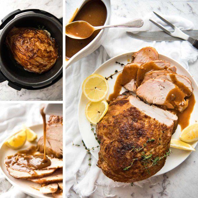 breast crockpot turkey Thanksgiving