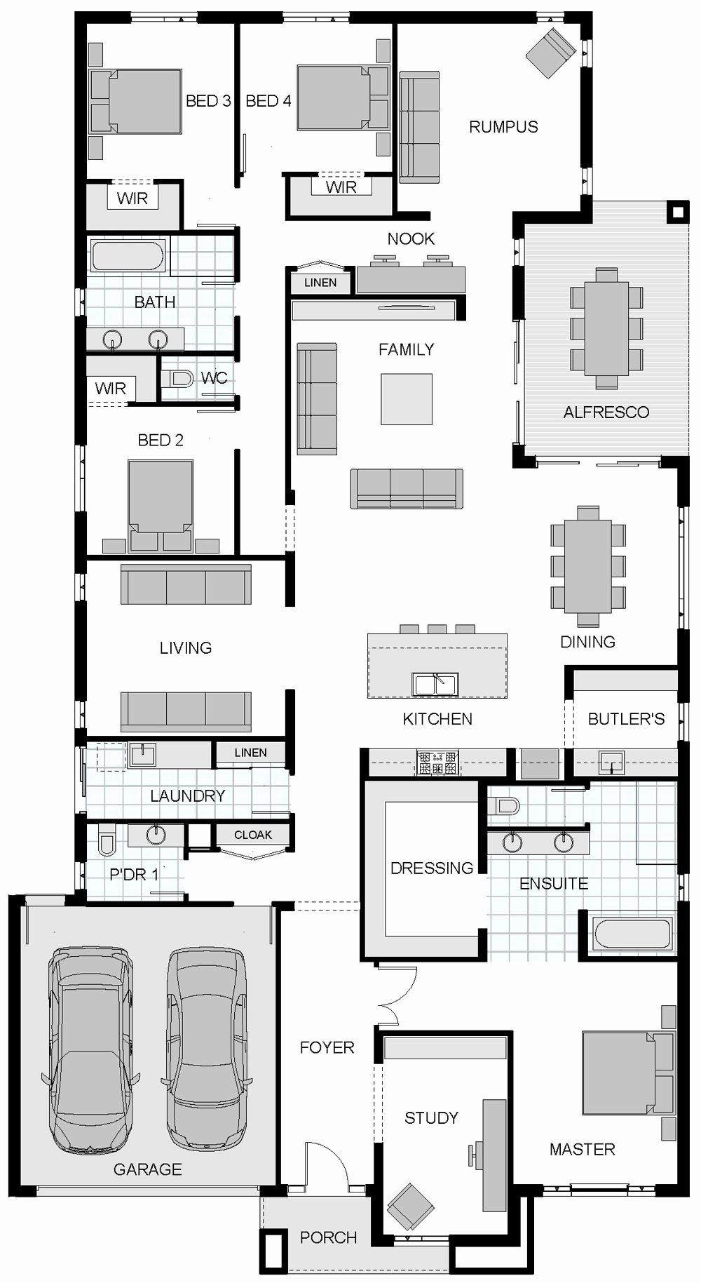 Pin On My Bedroom House Plans Ideas