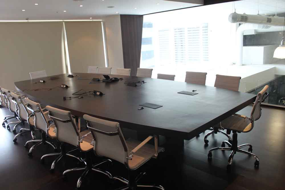The Conference Room with Rolling Chairs Designed by Arshad Mansuri
