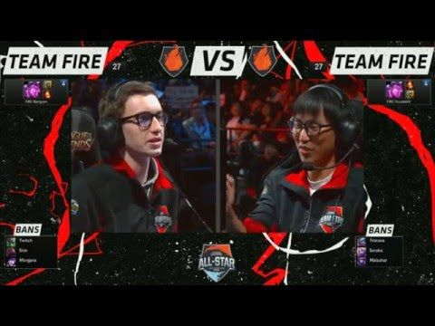 [All Stars 2015] In Bjergsen vs Doublelift's 1v1 Tournament they keep  spelling TSM with · EsportsLeague Of LegendsAll ...