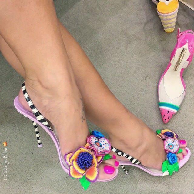 f14ae182514d SOPHIA WEBSTER Lilico Floral Jungle Sandal