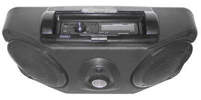 NEW Kolpin Universal UTV Stereo with Dual Speaker 3500 RZR MAVERICK COMMANDER