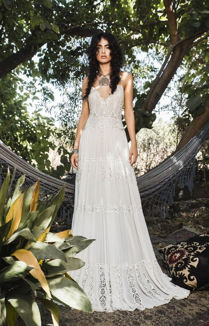 Inbal Raviv 2017 Wedding Dresses Bohemian Wedding Gowns