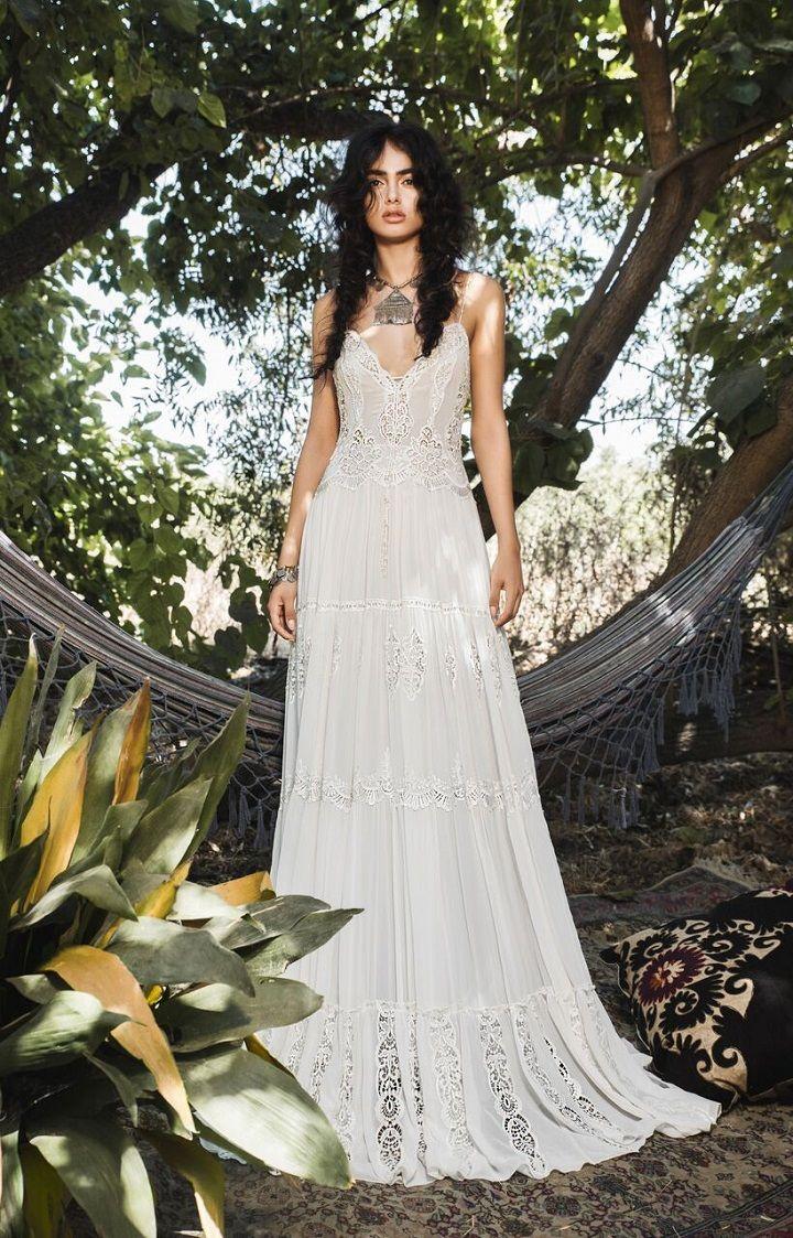 Inbal Raviv 2017 Wedding Dresses  Bohemian Wedding Gowns
