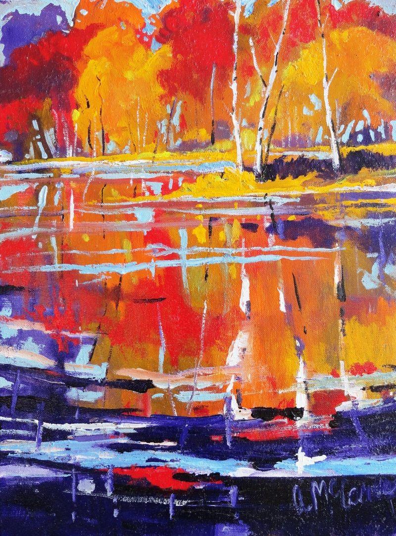 Watercolor artists names - Art Name Dancing Water Art Genre Landscape Artist Name Mccomas Anita Art