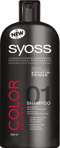 6556d88fd4 Syoss sampon Color protect - Színvédő 300 ml