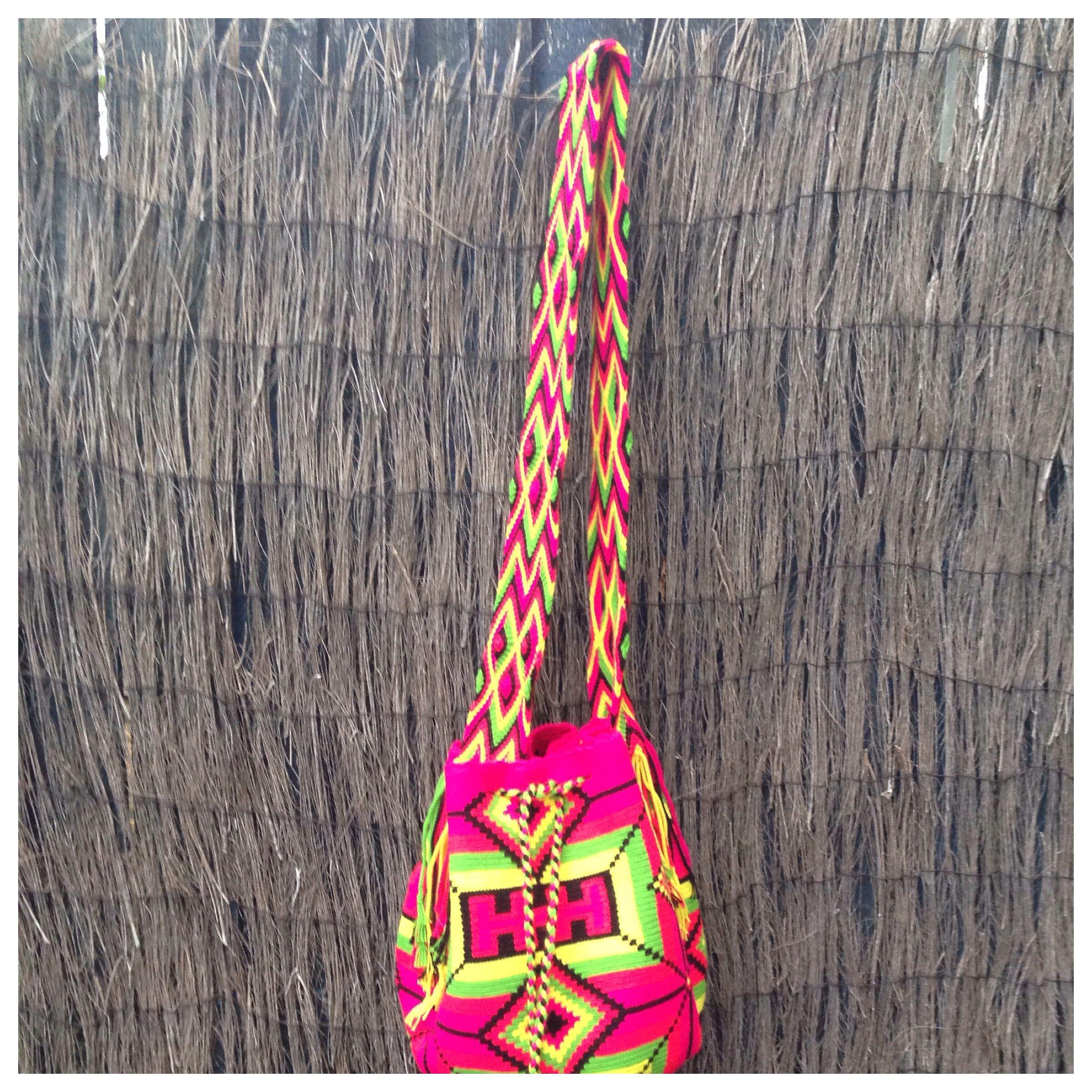 Colombian handmade Wayuu mochila www.gringas.co.uk